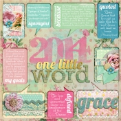 One Little Word for 2014 ~ Grace