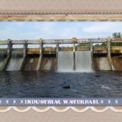 Industrial Waterfall