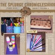 The Splurge Chronicles