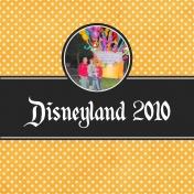 Disneyland 2010 Book Cover