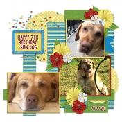 Happy Birthday Dun Dog