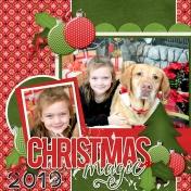 Sunny and Addi Christmas 2019
