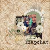 Coffee Time Snapchat