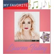 Lauren Talley- My Favorite
