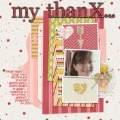 ~my thanX~