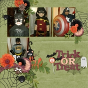 Trick Or Treat Superheroes