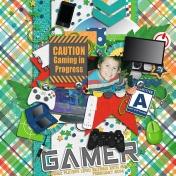 Caution: Gamer