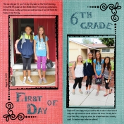 First Day of School- MK- 6th Grade