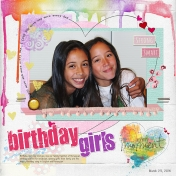 Birthday Girls- AL