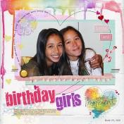 Birthday Girls- AL