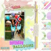 Birthday Balloons- AL