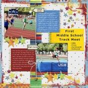 First Middle School Track Meet- AL