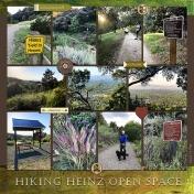 Hiking Heinz Open Space