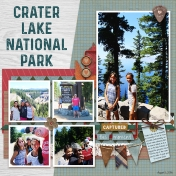 Crater Lake National Park- MK