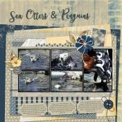 Sea Otters & Penguins