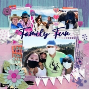 All About ABC Challenge- Family Fun (Letter F)