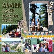 Crater Lake National Park- AL