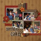 Pappa's Birthday Cake