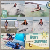 Body Surfing @ La Jolla Shores