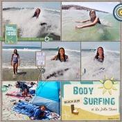 Body Surfing @ La Jolla Shores
