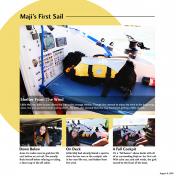 Maji's First Sail- AL