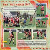 Fall Field Hockey 2017