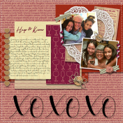 ABC All About Family- Letter X- XOXOXO