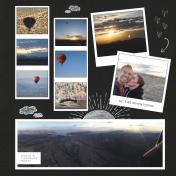 Hot Air Balloon 4th Anniversary R