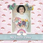My Little Pony left side
