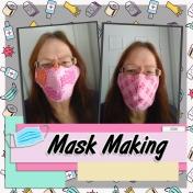 Making Masks left side