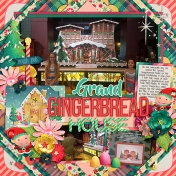 Grand Gingerbread House