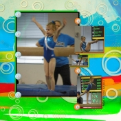 Gymnastics layout 6