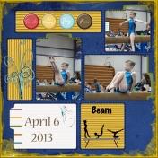 Beam routine 4/6/13