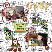 Luke's 5th birthday pt 2
