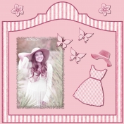 Summer Seersucker- Pretty in Pink
