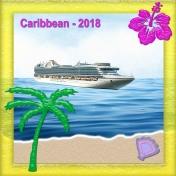 Glassy Beach with Cruise Ship