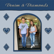 Denim & Diamonds with the Jewels in my Life 1