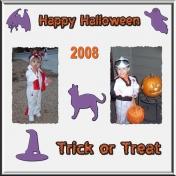 Happy Halloween 1- Grandkids 2