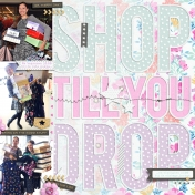 Shop Till You Drop (left page)