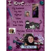 Jounal Card~ I love