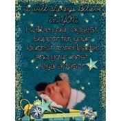 Journal Card~ I Believe