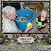 Playing with Grandpa