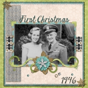 First Christmas Together 1946