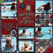 Swimming With Grammy Side 1