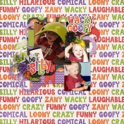 Be Silly Wacky Goofy