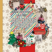 Christmas Card Photoshoot 1989