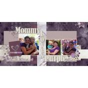 mommy loves purple