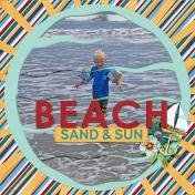 beach sand and sun