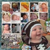 3 months of hunter