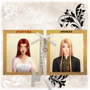 Avavilka and Moddan portraits